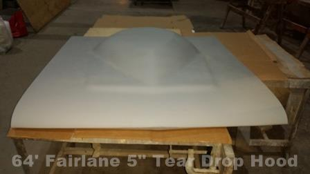 Fairlane Tear Drop hood