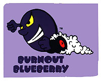 Burnout Blueberry